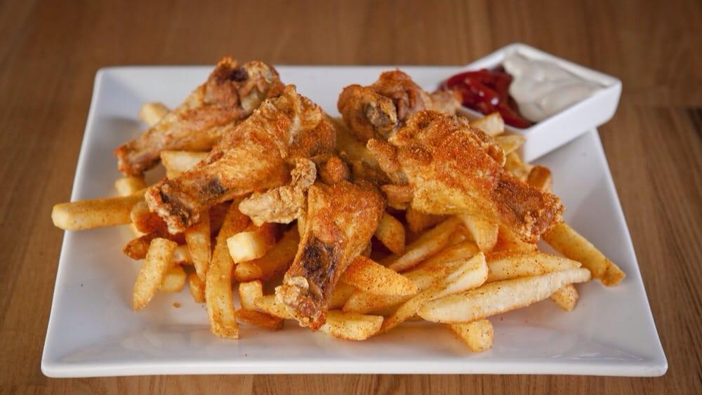 Ghost Chicken Kitchen Food